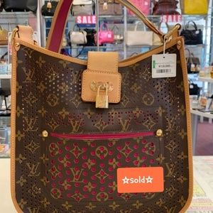 Louis Vuitton Crossbody Perforated
